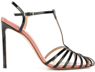 Francesco Russo Heeled Stiletto Sandals