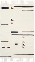 ferm LIVING Kelim Colour Triangles Rug - Small