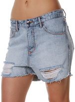 Billabong Tomboys Womens Denim Short Blue