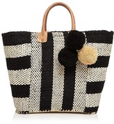 Mar y Sol Collins Straw Tote