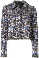 Giambattista Valli boucle-tweed floral jacket