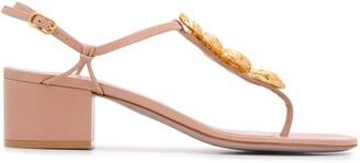Valentino Serpent 45mm sandals