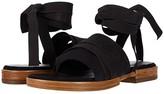 Free People Sun Valley Wrap Sandal (Black) Women's Shoes