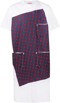 Raf Simons star print pocket detail T-shirt