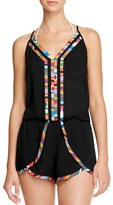 Nanette Lepore Mambo Romper Swim Cover-Up