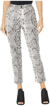Joe's Jeans The High Rise Cigarette in Scaled Python (Scaled Python) Women's Jeans