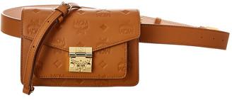 MCM Patricia Monogram Leather Belt Bag
