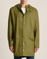 Rains Sage Long Hooded Rain Jacket