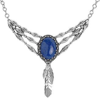 American West Classics Sterling Silver Gemstone Necklace