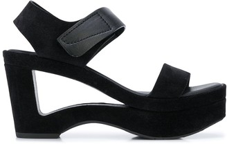 Pedro Garcia cut-out high heel sandals