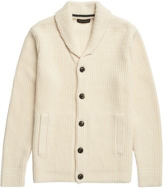 Banana Republic Heritage Shawl-Collar Cardigan Sweater