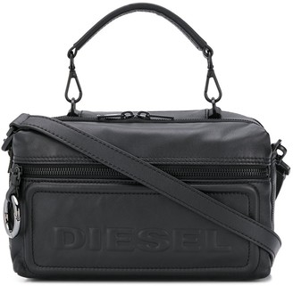 Diesel Logo Embossed Camera Bag