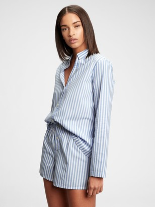 Gap Adult Pajama Shirt in Poplin