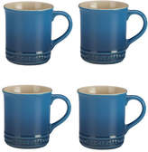 Le Creuset Set Of Four Mugs