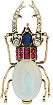 Joan Rivers Classics Collection Joan Rivers Private Collection Simulated OpalBeetle Brooch