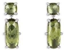 David Yurman Chatelaine Double Drop Earrings with Gemstones and Diamonds
