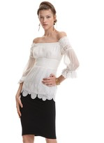Catherine Malandrino Pleated Silk Blouse