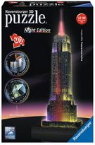 Ravensburger Empire State Building: Night Edition 216-pc. 3D Puzzle Building Set
