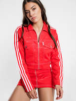 adidas Fiorucci Track Top in Red