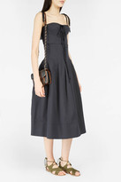 Brock Collection Sandra Boned-Waist Skirt