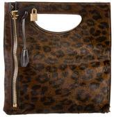 Tom Ford Ponyhair Alix Fold-Over Bag