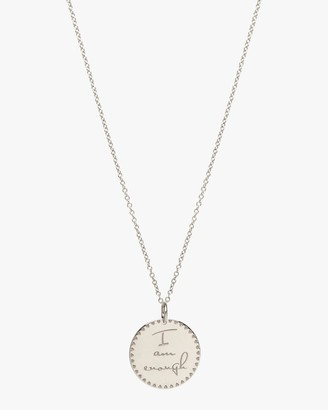 Zoë Chicco I am Enough Pendant Necklace