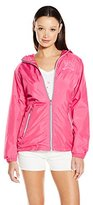 U.S. Polo Assn. Women's Hooded Windbreaker Jacket