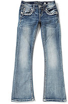 Miss Me Girls Big Girls 7-16 Embellished Bootcut Jeans