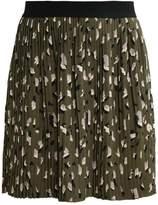 Only ONLNIBU Pleated skirt vineyard green