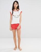 MinkPink Miso Sleepy Pajama Shorts
