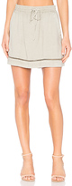 Bella Dahl Ladder Stitch Skirt in Gray. - size M (also in )