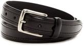 Trafalgar Double Stitch Leather Belt