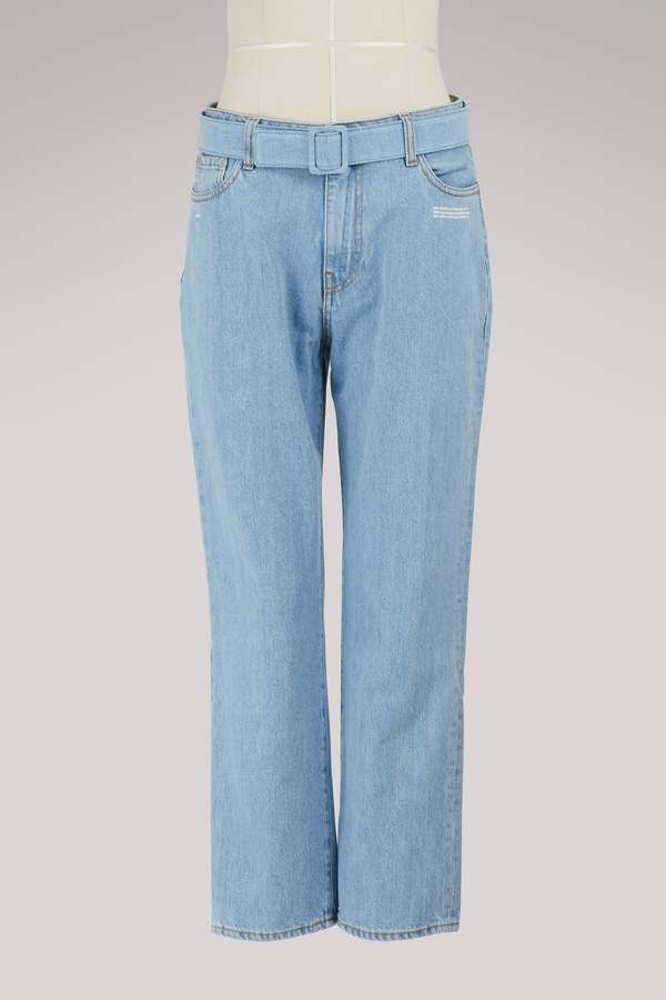 Off-White Off White Cropped jeans