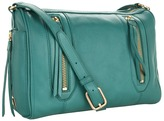 Botkier Aldyn Shoulder (Teal Cowhide/Satin Brass) - Bags and Luggage