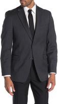 Tommy Hilfiger Slim Fit Wool Blend Pinstripe Suit Separate Jacket