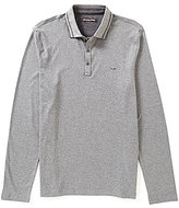Michael Kors Double Collar Long-Sleeve Polo Shirt