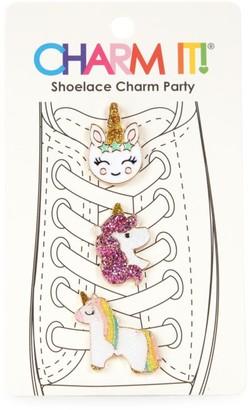 CHARM IT! Unicorn Three-Piece Shoelace Charm Set