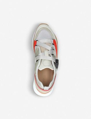 Chloé Sonnie colour-block low-top trainers