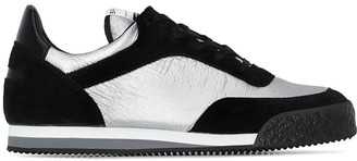 Comme des Garcons x Spalwart Pitch two-tone low top sneakers