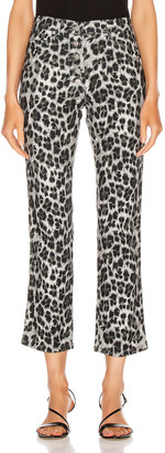 Miaou Junior Pant in Grey Leopard | FWRD