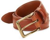 Bosca Stitched Leather Belt