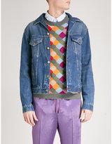 Gucci Patch-appliquéd Denim Jacket