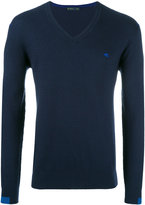Etro V-neck jumper - men - Cotton/Cashmere - M