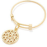 Alex and Ani Endless Knot Expandable Wire Ring