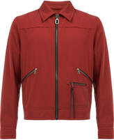Lanvin zipped bomber jacket