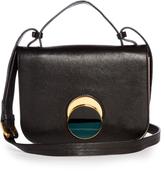 Marni Pois bi-colour leather cross-body bag