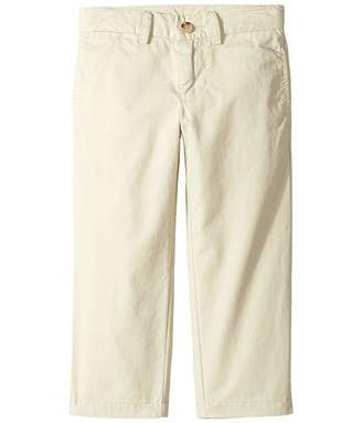 Polo Ralph Lauren Slim Fit Cotton Chino Pants (Toddler) (Basic Sand) Boy's Casual Pants