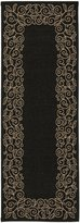 """Safavieh Courtyard Collection CY5139D and Beige Indoor/ Outdoor Runner, 2 feet 7 inches by 8 feet 2 inches (2'7"""" x 8'2"""")"""