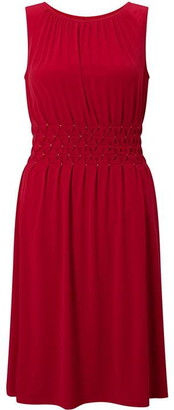 James Lakeland Sleeveless Diamantes Dress