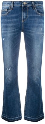 Liu Jo Cropped Wide-Leg Jeans